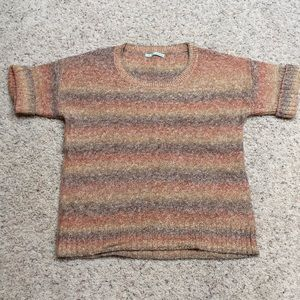 NWOT women's L Maurices short sleeve knit sweater